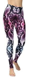 Snake Skin Leggings - NiftyLooks