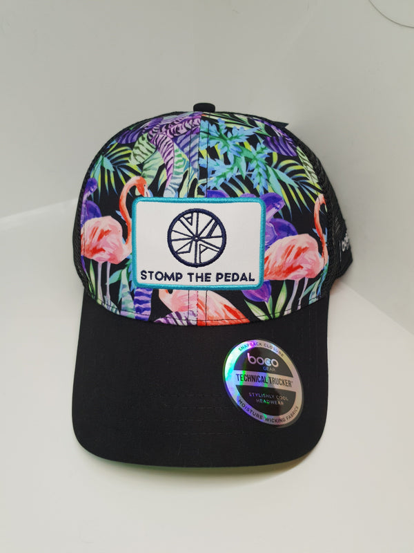 'Flamingos Baby' STP Technical Trucker - Stomp the Pedal