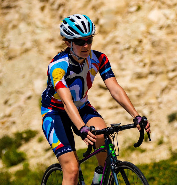 'Atika' Women's Cycle Jersey (LAST ONE) - Stomp the Pedal