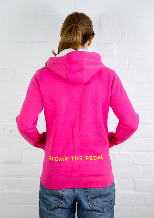Zipper version - 'Cerise Pink' STP Signature 'LUXE' Unisex Hoody!