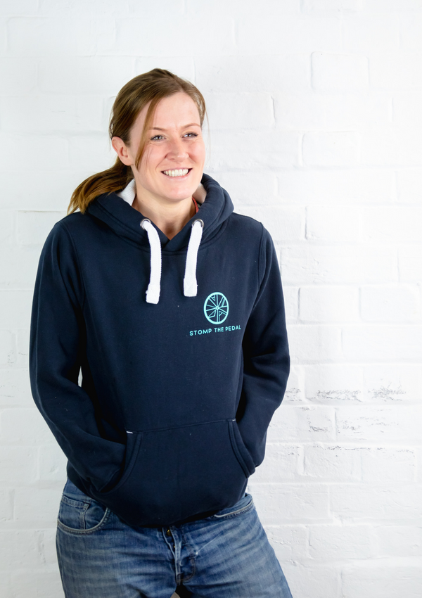 'Navy with Teal'' STP Signature 'LUXE' Unisex Hoody!