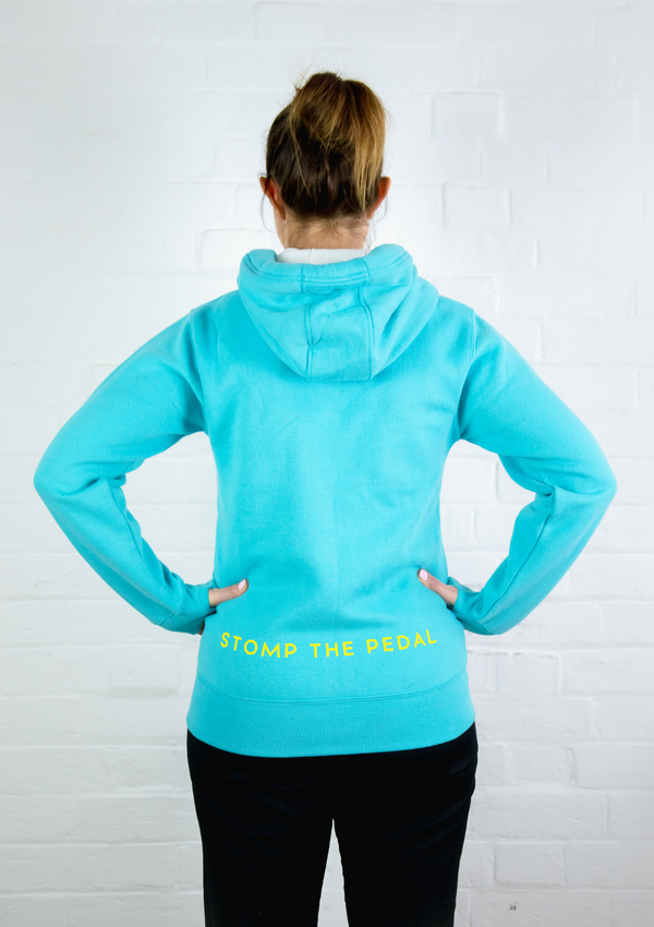 Zipper version - 'Lagoon Blue' STP Signature 'LUXE' Unisex Hoody!