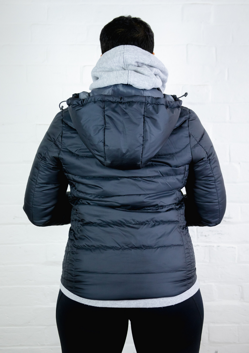 Eco Friendly & Cruelty Free Winter Jacket (removable hood) - Stomp the Pedal