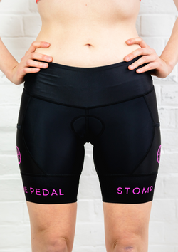 STP Signature Black Tri Shorts