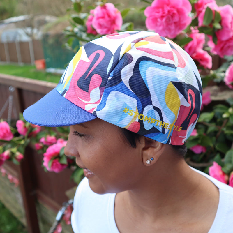 Stomp the Pedal 'Signature' Cycle Flat Caps - Stomp the Pedal
