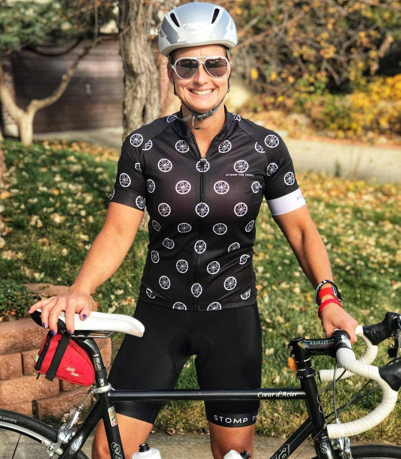 STP 'Signature Logo' Women's Cycling Jersey - Stomp the Pedal