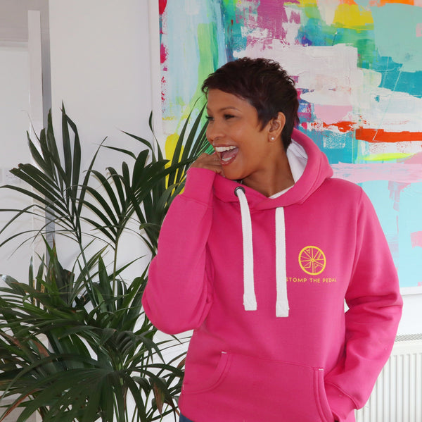 STP Signature 'LUXE' Unisex Hoody! (1 medium PINK left) - Stomp the Pedal