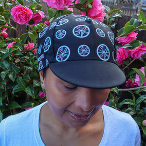 Stomp the Pedal 'Signature' Cycle Flat Caps