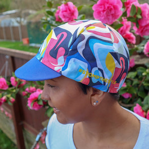 'Stomp the Pedal 'Atika' Cycle Flat Cap