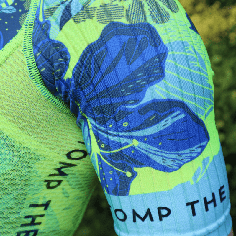 'Ohana' Short Sleeve Aero Trisuit - Stomp the Pedal