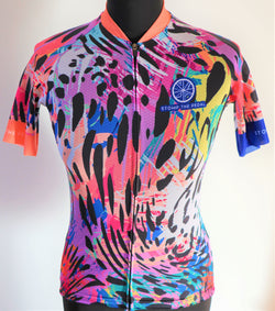 'Serengeti' Women's Cycle Jersey - Stomp the Pedal