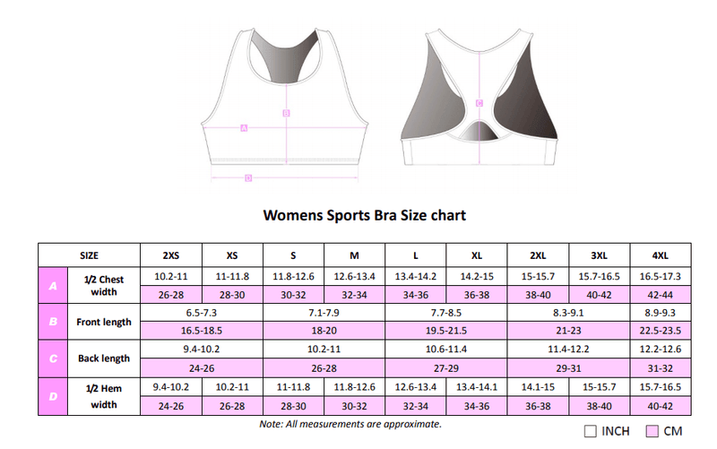 Pick n Mix Sports bra - all colours - Stomp the Pedal
