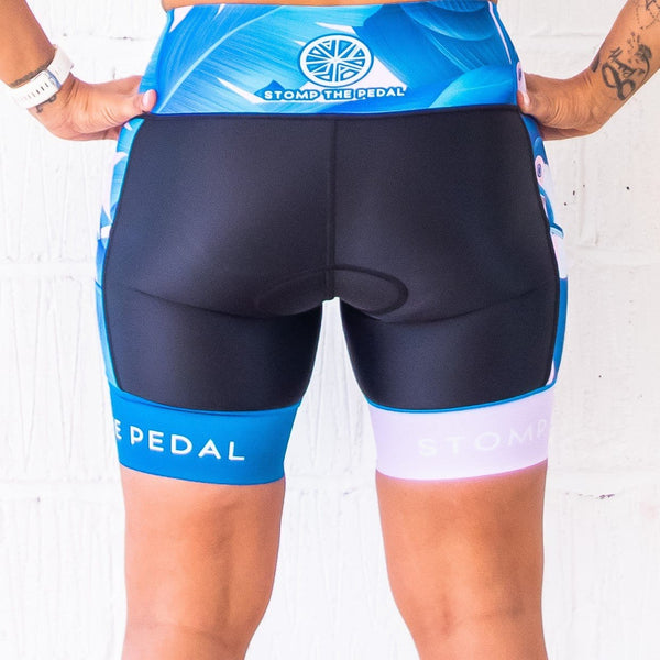 'Tarshy Toucano' Tri Shorts - Stomp the Pedal