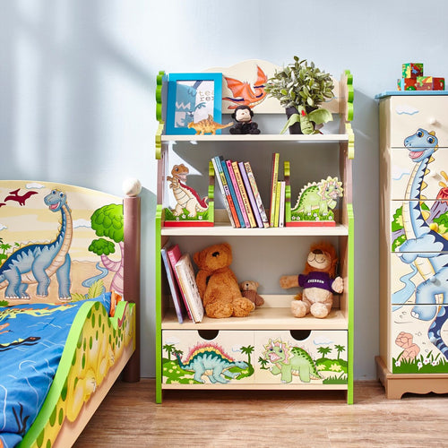 Fantasy Fields by Teamson Dinosaur Kingdom Bookshelf