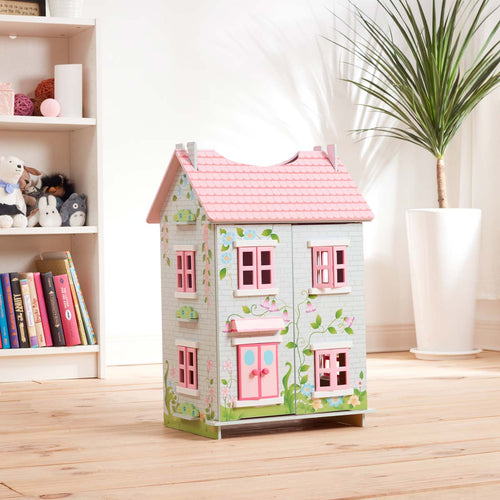 Teamson Kids Fairytale Cottage with 7 Accessories Included