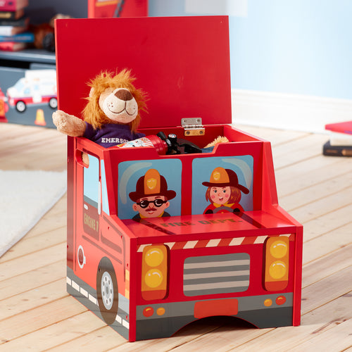Fantasy Fields by Teamson Lil Fire Fighters Step Stool