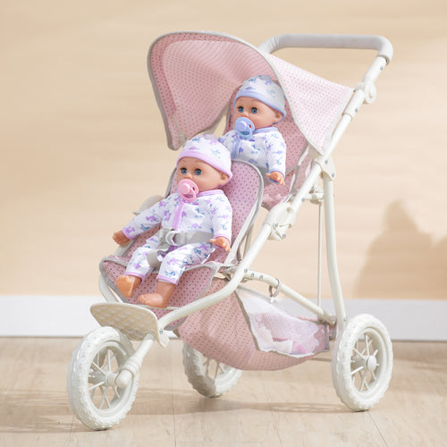 "Olivias Little World 18"" Baby Doll Furniture Stroller Push Chair Play OL-00004"