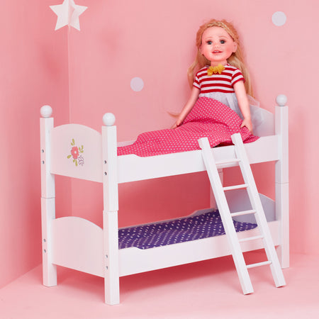 Olivia S Little World Baby Doll Furniture Polka Dots Baby