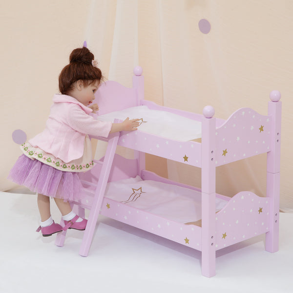 Olivias Little World 18 Baby Doll Furniture Double Bunk Bed Doll Play Td 0095ap