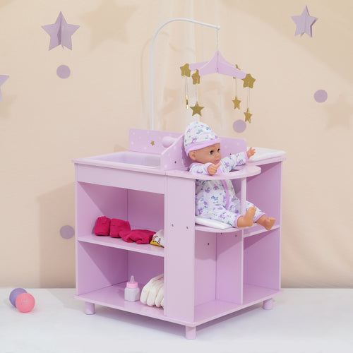 "Olivias Little World 18"" Baby Doll Furniture Changing Bed Doll Storage TD-0203AP"