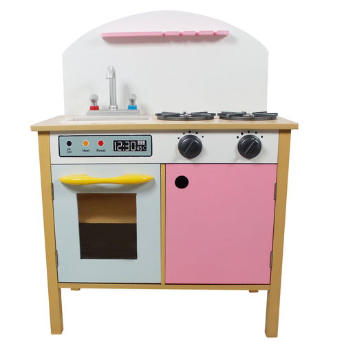 Teamson Kids Pink Play Kitchen By Teamson Kids