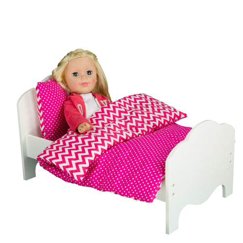 Olivia's Little World Baby Doll Furniture Classic Single Bed by Teamson Kids