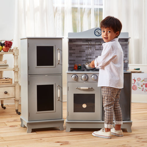 Teamson Kids Farmhouse Kitchen - Grey
