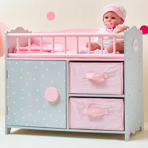 "Olivias Little World 18"" Baby Doll Furniture Changing Station Storage TD-12390A"