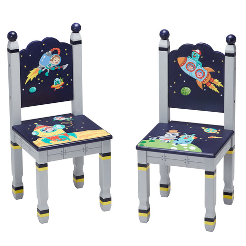 Fantasy Fields by Teamson Outer Space Set Of 2 Chairs