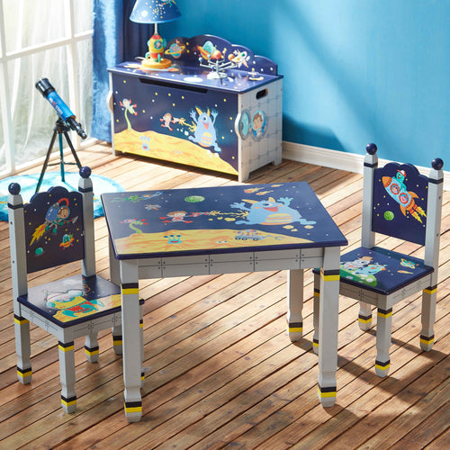 Fantasy Fields by Teamson Outer Space Table & 2 Chairs Set