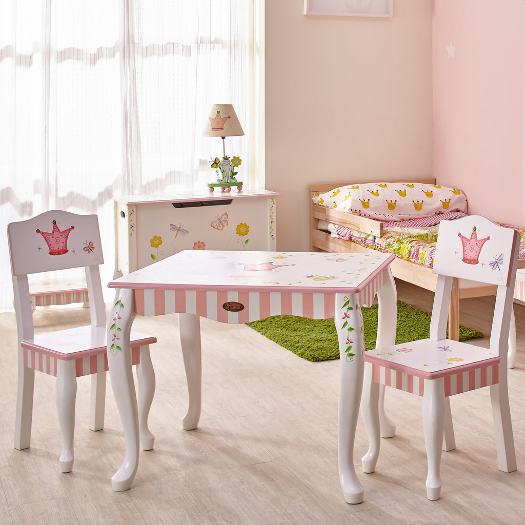 Fantasy Fields by Teamson Princess & Frog Table & 2 Chairs Set