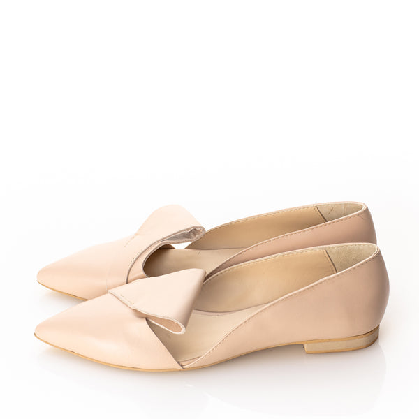 HONEST BOW flat ballerinas