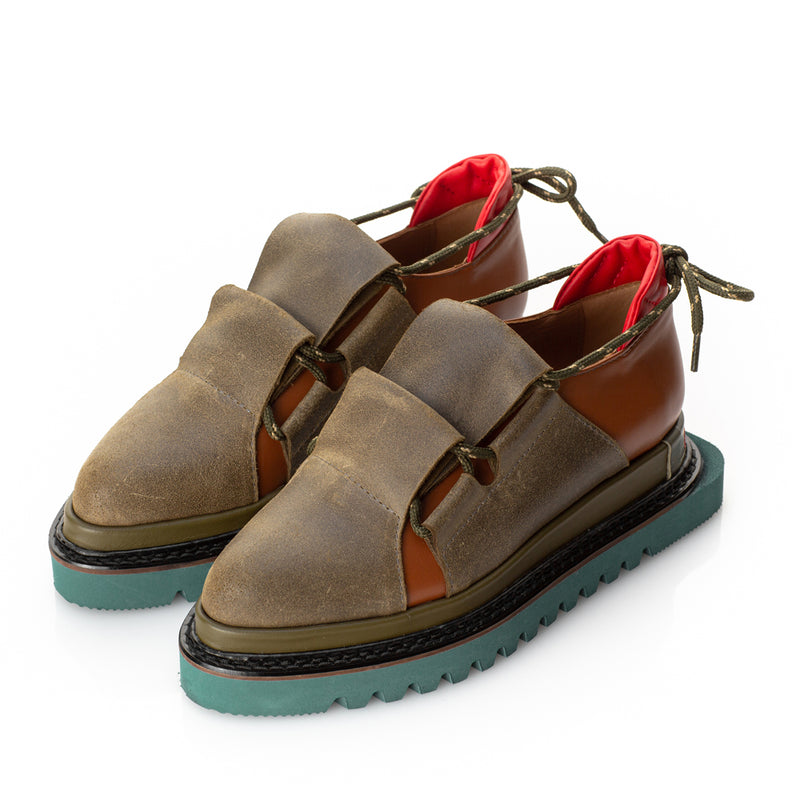 Metamorphose brown shoes