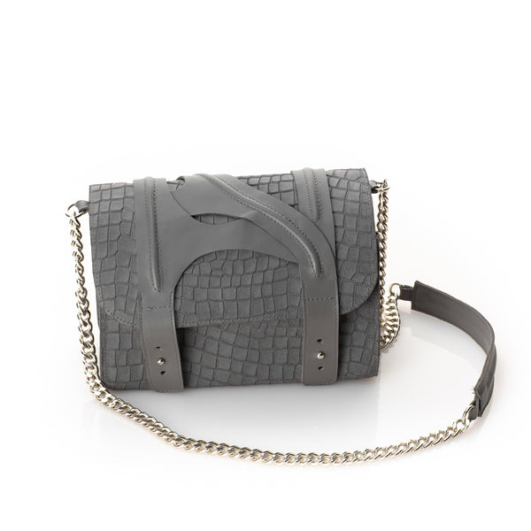 Grey leyers bag