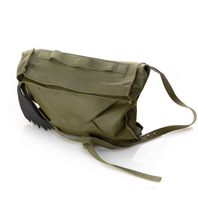 Windy khaki Leather Bag