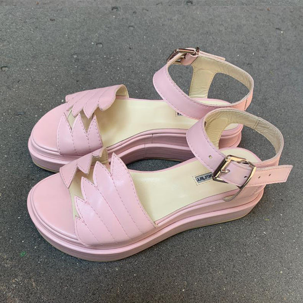 Fly with Me Pink Sandals