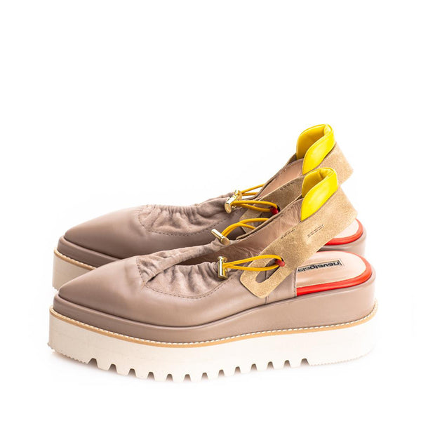 Cyber Beige Shoes