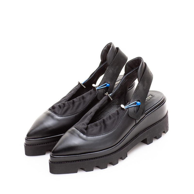 Cyber Black Shoes