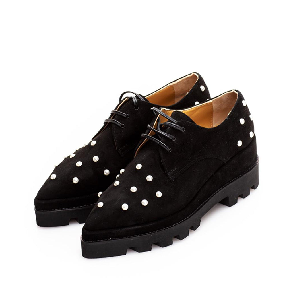 Pantofi SWEET PEARLS ON VELVET P686 . 522 . P25