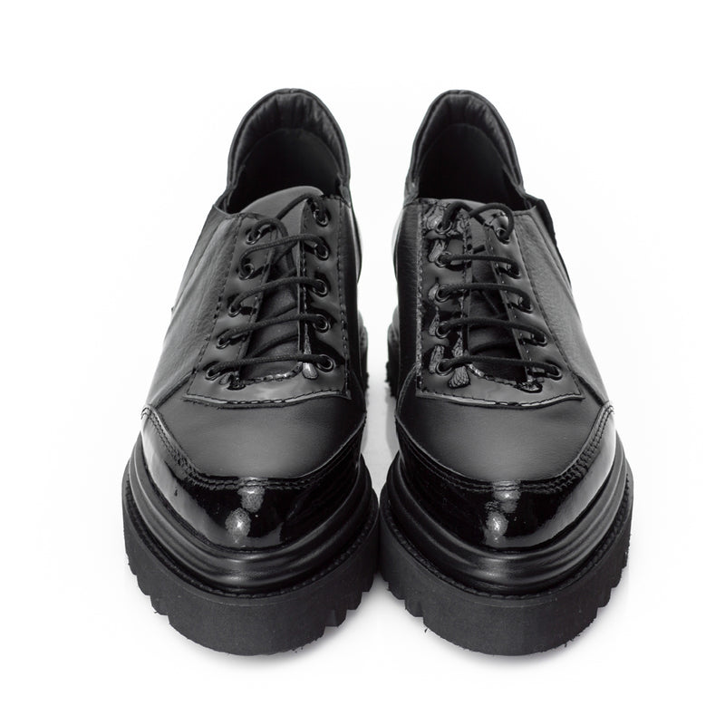 New Retro Black Shoes