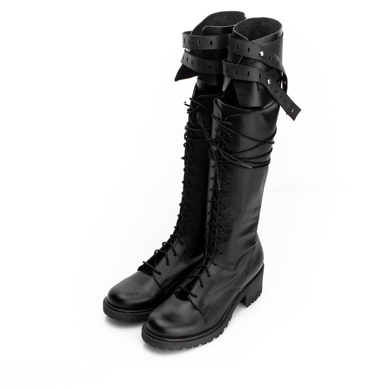 Double Monk Long Boots