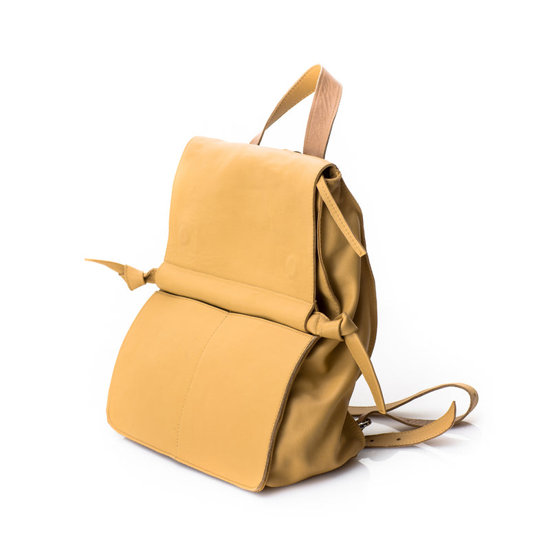 Tube Beige Backpack