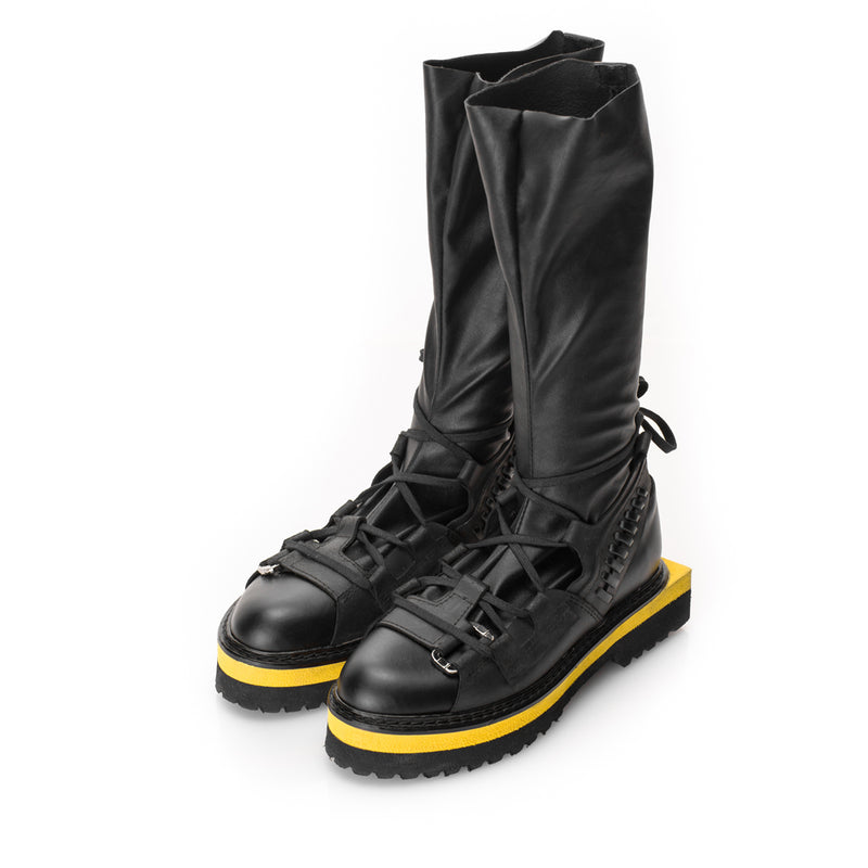 Hybrid poetry boots