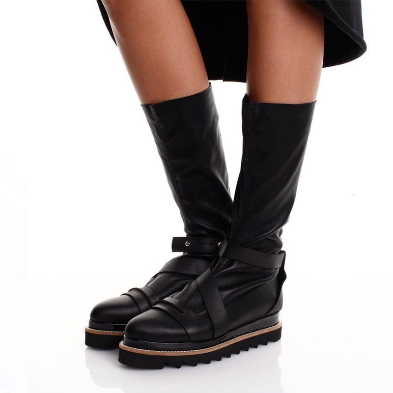 Easy Stretch Black Boots