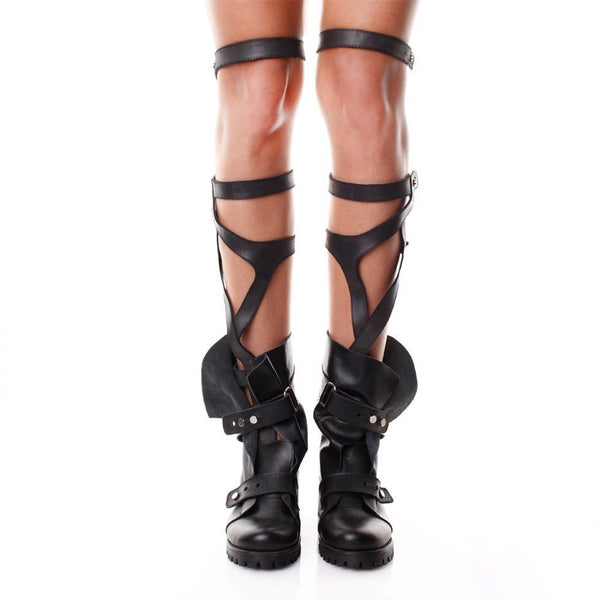 Hugs and Kisses over knee Gladiator Boots