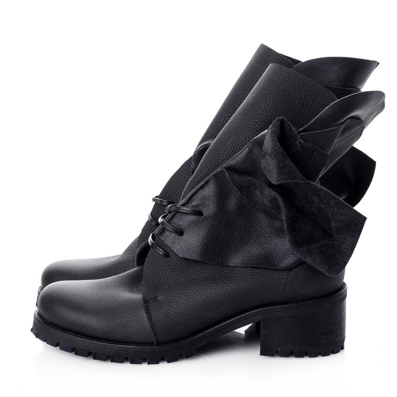 In Bloom Black Boots
