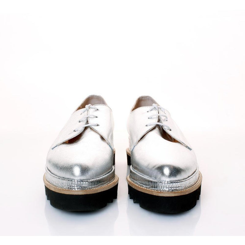 Derby Silver Shoes
