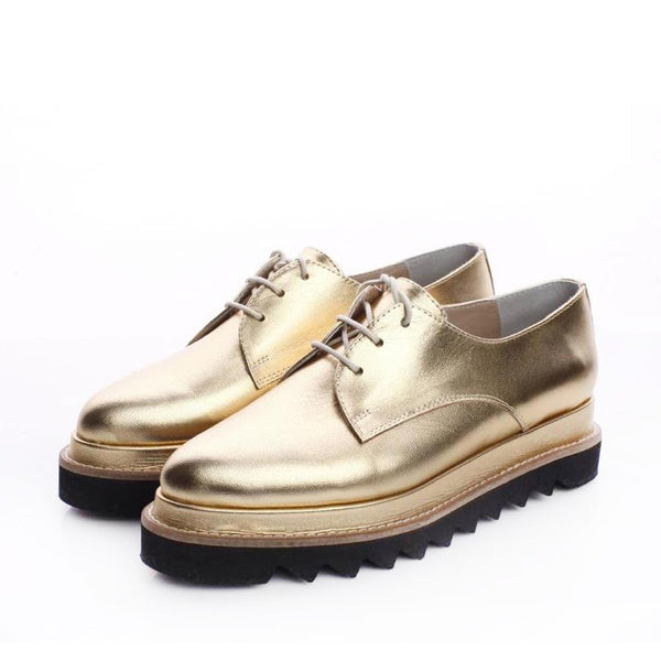 Derby Golden Shoes