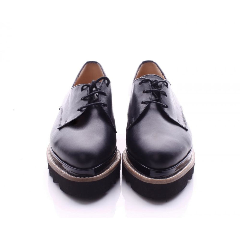 Derby Black Shoes