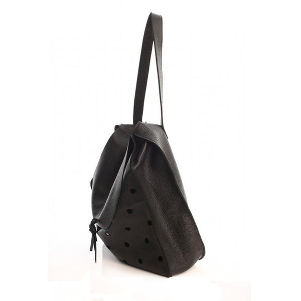 Dots Black Bag